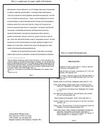 Example Research Paper Using Chicago Manual Style Example Of