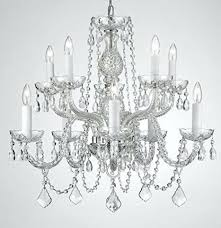 plug in chandelier crystal trimmed chandelier chandelier lighting dressed with crystal h w lamps plus plug in