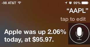 Siri Stock Quote 55 Stunning Get Stock Market Details From Siri On IPhone IPad IPod Touch