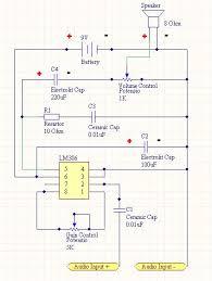 portable mini amplifier speaker 10 steps pictures skematik png