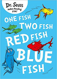 one fish two fish red fish blue fish dr seuss dr seuss 9780007425617 amazon books