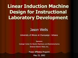 Design Of Induction Motor Ppt Ppt Linear Induction Machine Design For Instructional