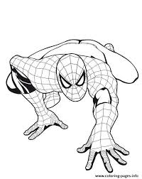 Super hero on the background of the web. Spiderman S For Boys5fe1 Coloring Pages Printable