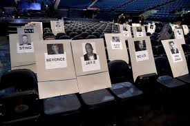 Joe Bruno Stadium Seating Chart Grammys 2018 See Whos Seated Where Rap Up