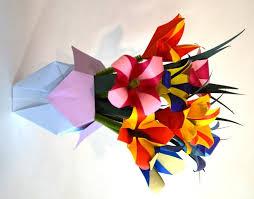 Paper Origami Flower Bouquet Garden Origami Flower Bouquet Norfolk Botanical Garden