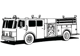 Fire Truck Coloring Sheets Simple Fire Truck Coloring Pages A Fire