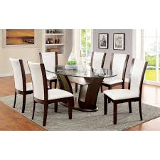 oval glass dining table. Oval Glass Dining Table Decor Modern On Cherry Wood Best Gallery Of V