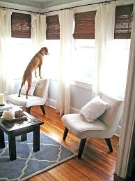 window treatment ideas wall of windows curtains galvanized pipe curtain best for sunroom new treatm