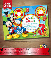 mickey mouse clubhouse invitation mickey invitation mickey clubhouse invitation mickey clubhouse 🔎zoom