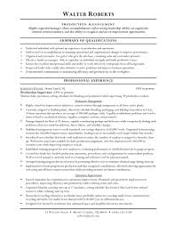 Production Worker Resume Sample Resume Objective Examples Warehouse Free Resume Templates 23