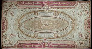antique french aubusson rugcirca 1850 14 x 30 rug eu28120