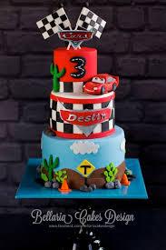 Cars Birthday Cake Cake By Bellaria Cake Design Cakesdecor