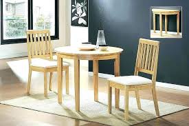 drop leaf dining table set for small spaces room chairs folding space uk round kitchen excellent