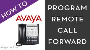 avaya partner how to program remote call forward