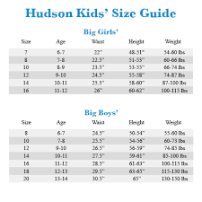 Youth Pants Size Chart Hudson Kids Christa Super Stretch In Vintage Blue Wash Big