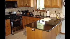 Honey Oak Kitchen Cabinets granite countertop honey oak kitchen cabinets wall color 2573 by xevi.us