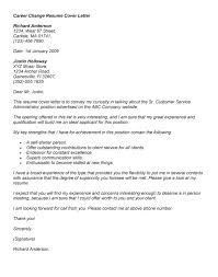 Best Cover Letter Change Of Career Path    In Structure A Cover