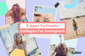 apps to create collages for insram