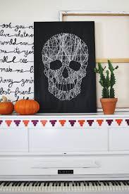 Diy String Art Make Your Own Skull String Art A Beautiful Mess