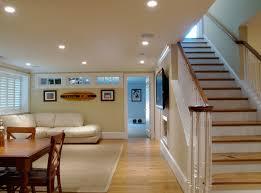 Inspiring Basement Floor Finishing Ideas With Concrete Finished - Finish basement floor
