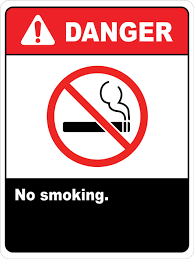 No Smoking Signage Danger No Smoking Signs Wall Sign Creative Safety Supply