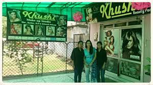 parlour exterior khushi makeup studio photos lakhanpur kanpur beauty parlours for bridal