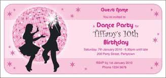 Dance Invitation Ideas Printable Dance Party Invitations Download Them Or Print