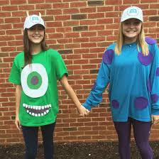 Homemade Disney Costume Ideas Monsters Inc Character Day Homecoming Spirit Week 15 16