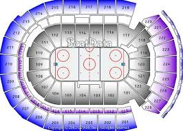 Columbus Clippers Seating Chart With Seat Numbers Nationwide Arena Columbus Ohio