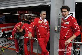 Binotto To Replace Arrivabene As Ferrari F1 Team Boss