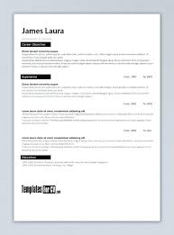 Resume Templates For Word 2007 Free Resume Template Word Functional ...