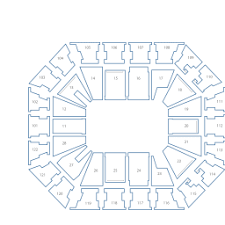 Mohegan Sun Arena Interactive Seating Chart