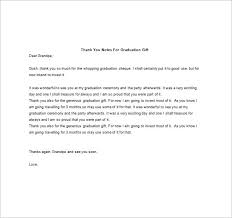 Graduation Thank You Note Graduation Thank You Letters Magdalene Project Org