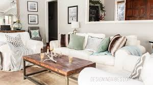 Where To Start When Decorating A Living Room Rustic Glam Holiday Decor Home Tour Part 1
