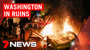 Washington riots: Destruction and looting just metres from the White House  | 7NEWS - YouTube