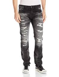 Cult Of Individuality Size Chart Cult Of Individuality Mens Rocker Slim Fit Jean In Tully At