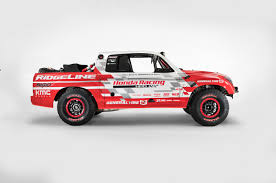 2017 Honda Ridgeline Baja Race Truck concept side - Motor Trend