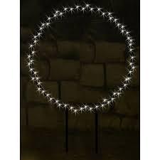 Takasho Deko Silhouette Kreis L 126 Warmweiße Leds Innen Und Außen