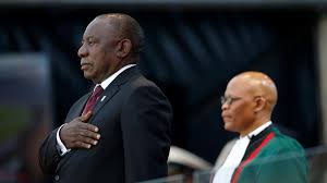 Matamela cyril ramaphosa (born 17 november 1952) is a south african politician, businessman, activist, and trade union leader who has served as the deputy president under president jacob zuma. Huge Challenges As Ramaphosa Takes Oath In South Africa