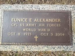 Eunice Everett Alexander, Sr (1915-2004) - Find A Grave Memorial