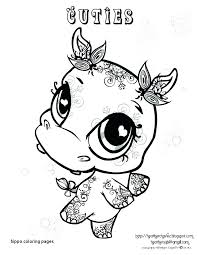 Hippopotamus Coloring Page Pygmy Hippo Coloring Pages