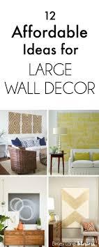 Bedroom Wall Decor Diy Wall Decor Ideas Diy Photo Frames On Wall