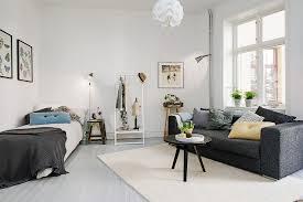 Delightful One-Room Studio Apartment in Gothenburg Inspiring Brightness and  Space - Freshome.com