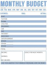 basic budget worksheet college student 15 free printable budget worksheets proposal review