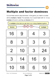 Kindergarten Multiples And Factors Worksheet Worksheets F ~ Koogra ...