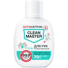 Антибактериальный <b>гель для рук</b> Clean Master на основе ...