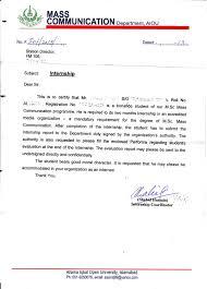 Sample Letter For Internship Certificate Lv Crelegant Com