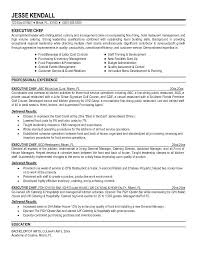 Chef Resumes Examples Culinary Arts Resume Chef Resume Example