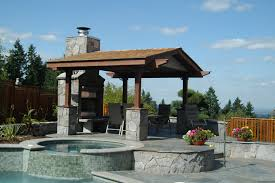 outdoor covered structure roof design