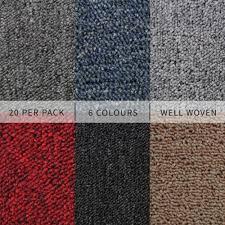 20 x carpet tiles 5m2 box heavy duty